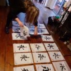 Inspirational Oriental Painting, Qi gong and Shiatsu Retreat